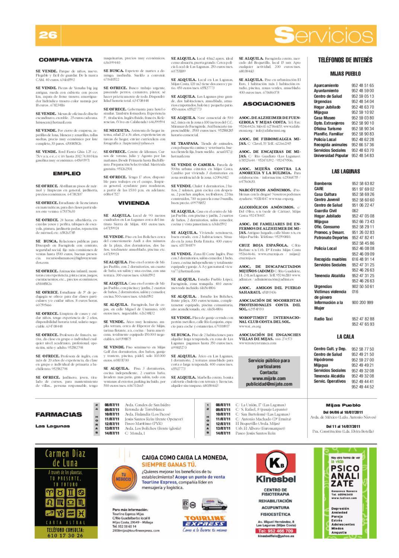 Mijas Semanal Nº 434 Del 8 al 14 julio by Mijas Semanal - issuu