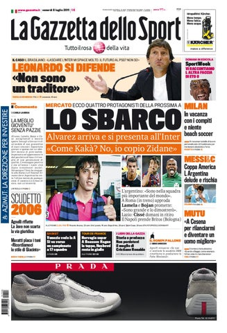 huge discount c8574 68b19 Gazzetta dello sport - 8 luglio 2011 by lòxzck fdsfs - issuu