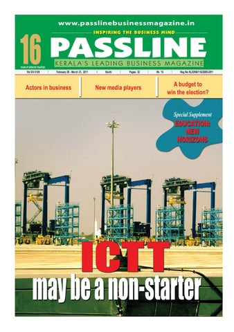 Passline Business Magazine March-April 2011 by Passline Business