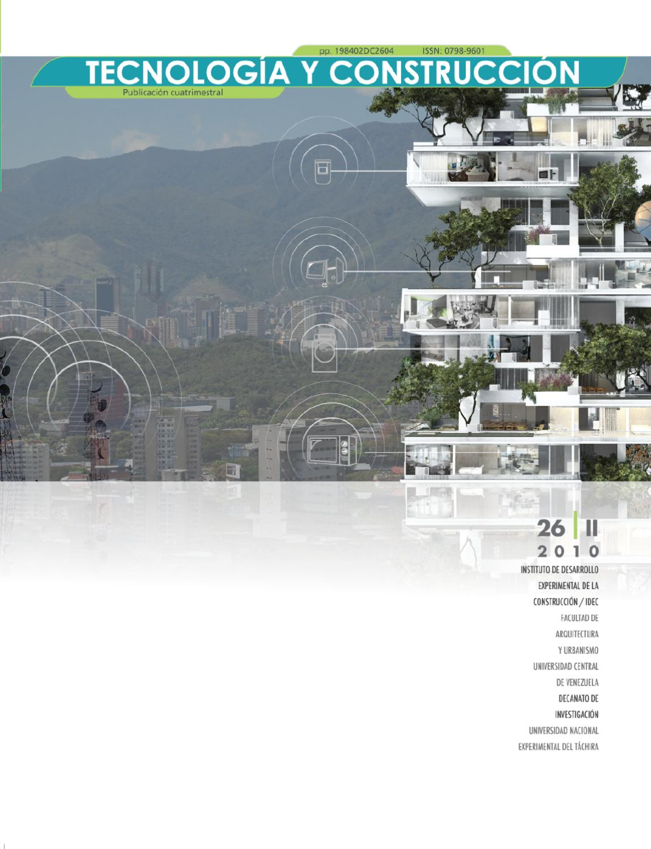 Revista Tecnología y Construcción 26 II by Revista TyC - issuu