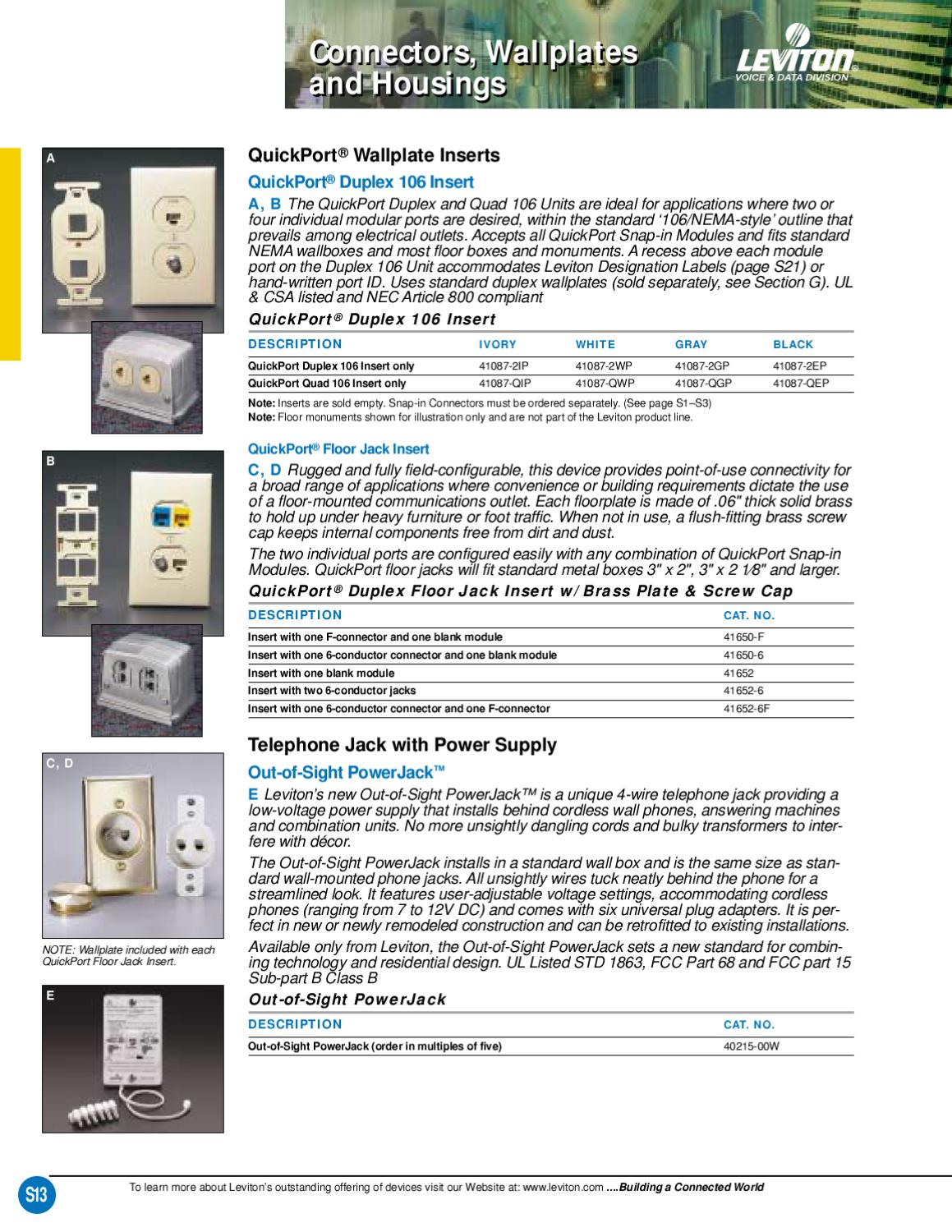Nice Leviton Website Image Collection - Wiring Diagram Ideas ...
