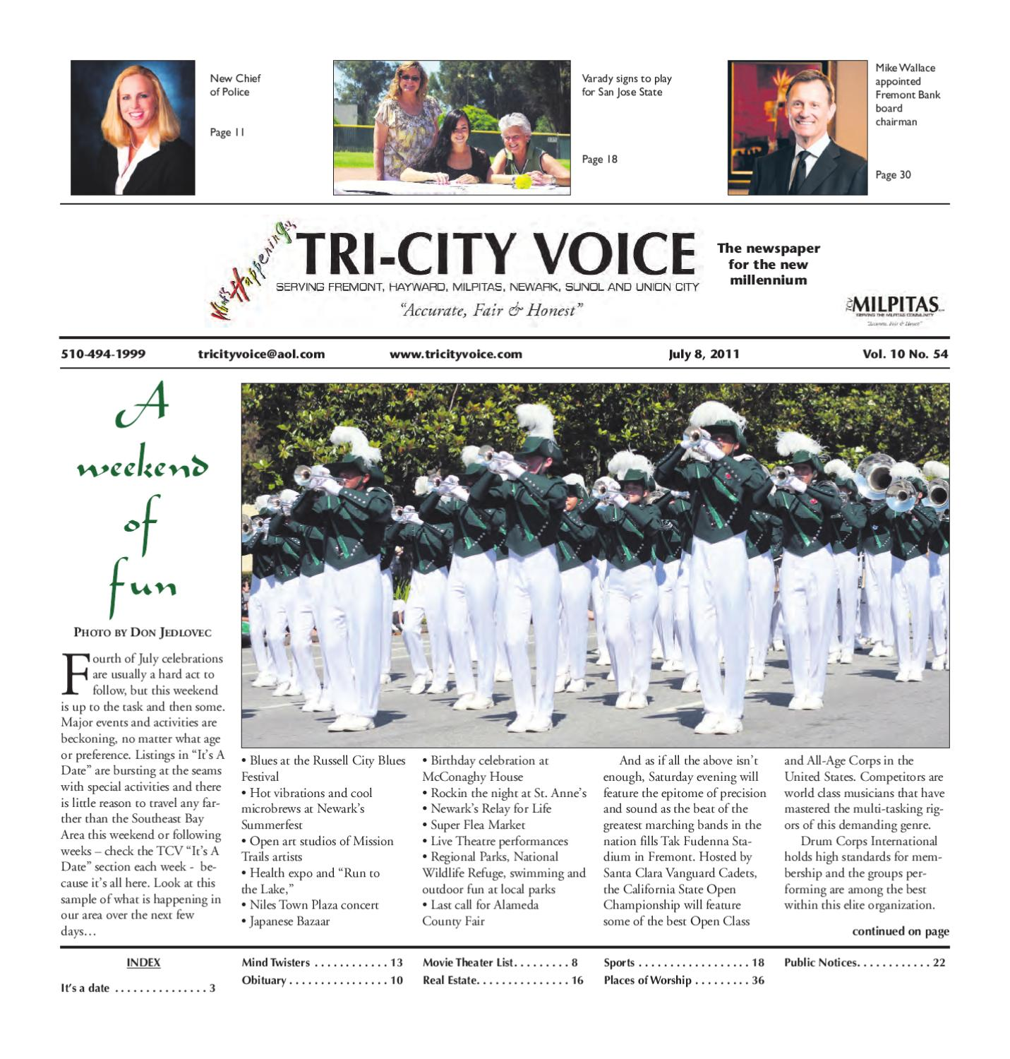 Tcv 2011 07 08 By Tri City Voice Issuu Solid State Relay Newark