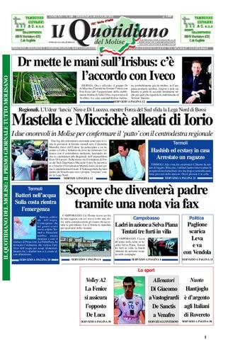 Il quotidiano del Molise del 10 luglio 2011 by Bruno Marrone - issuu 5036fb760d33