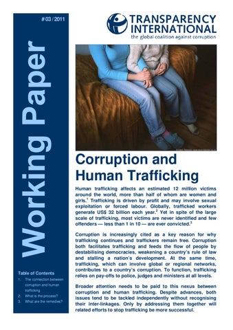 Human Trafficking In The United States Criminology Essay