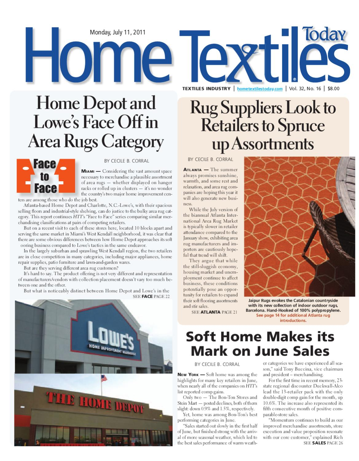 Home Textiles Today July 11th Issue by Sandow Media - issuu