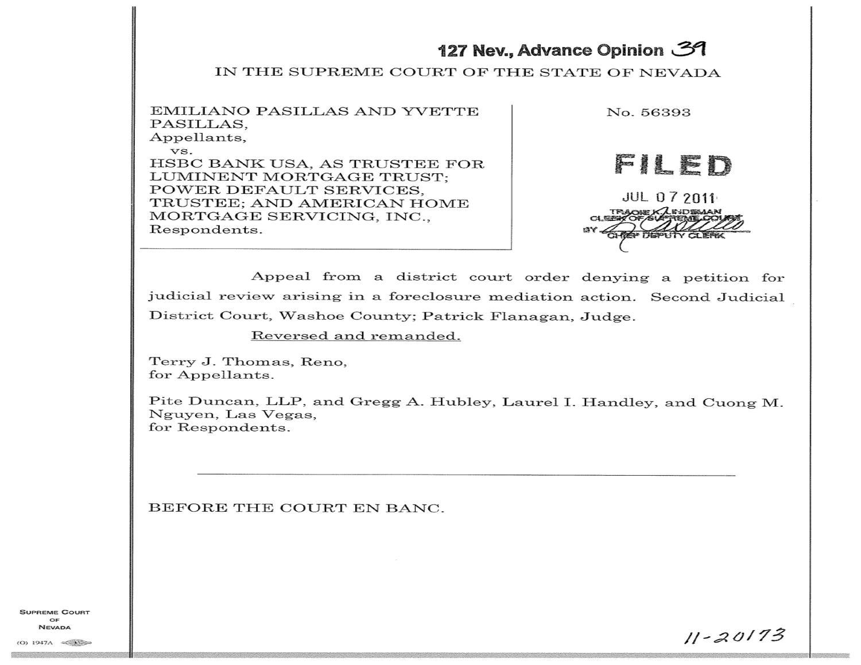 Pasillas v  HSBC by Desert Edge Legal Services, LLC - issuu
