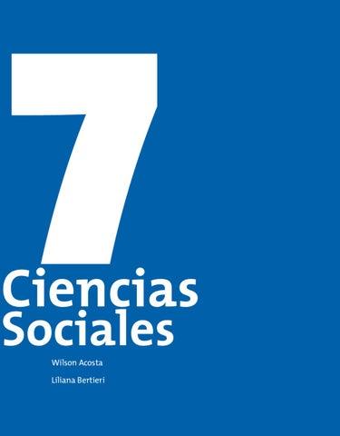 Guia Post Primaria Ciencias Sociales 7 By Carlos Andres Penas