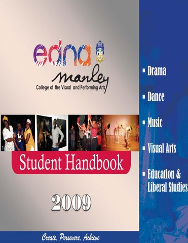 Student handbook edna manley college of the visual and performing student handbook edna manley college of the visual and performing arts by ebos edna manley college of the visual and performing arts issuu fandeluxe Image collections