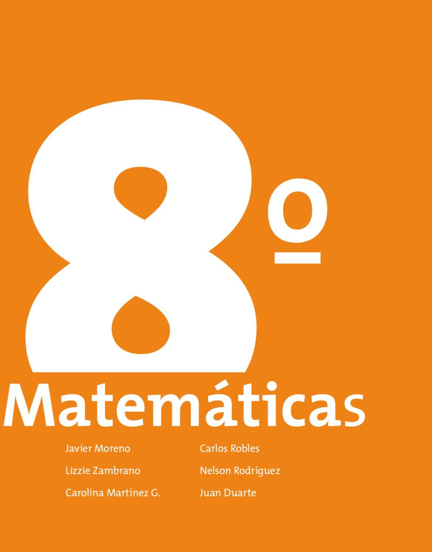 Guia Post-Primaria Matemáticas 8° by Carlos Andres Peñas Velandia ...