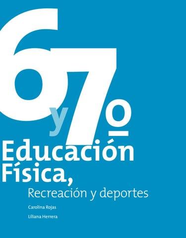 Guia Post Primaria Educacion Fisica Recreacion Y Deporte 6 Y 7 By