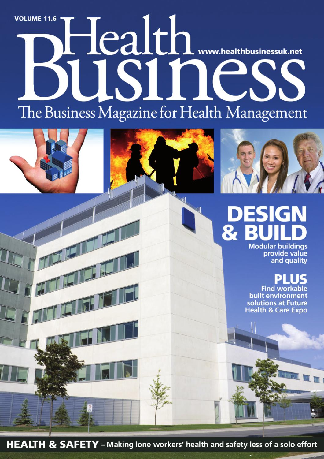 Health Business Volume 11 6 by Public Sector Publishing - issuu