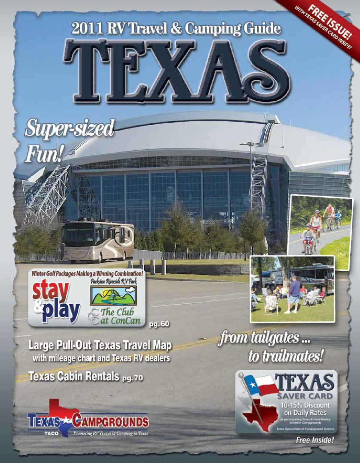 2011 Rv Travel Camping Guide To Texas By Ags Advertising Issuu Hurricane Motorhome Wiring Diagram For