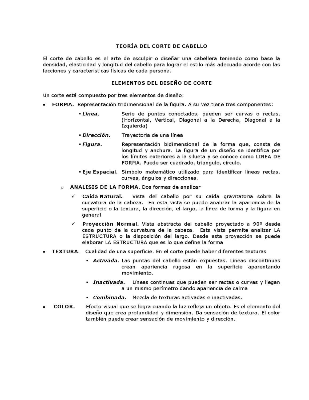 Apuntes teoría básica de corte by Estilismo Stylo - issuu