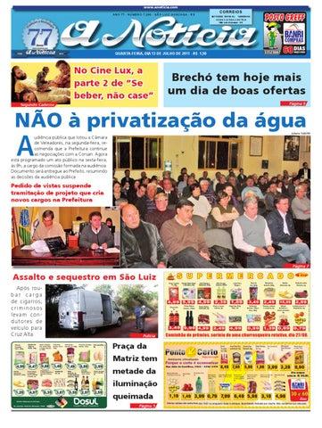 7cddffe28 Edição do dia 13 de julho de 2011 by Jornal A Notícia - issuu