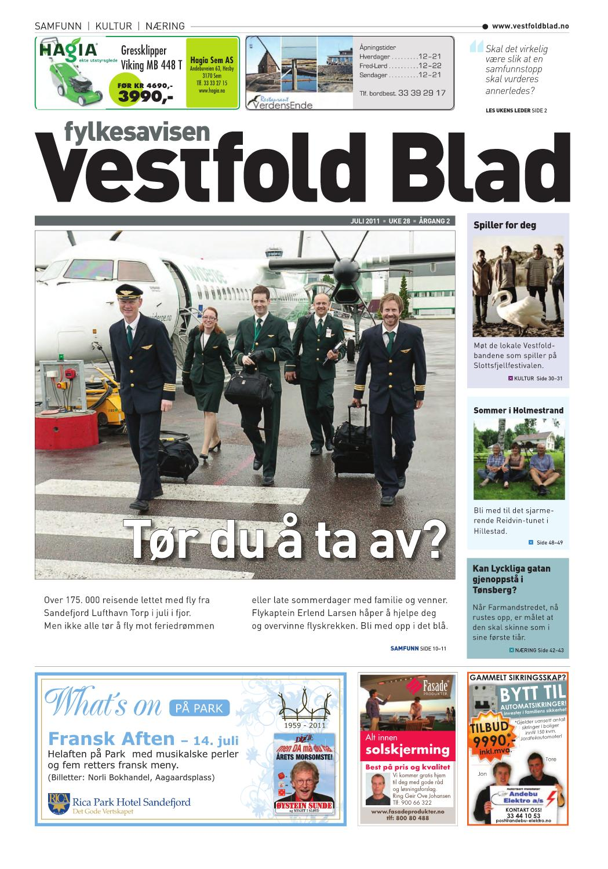 e8f366debeb6 Vestfold Blad - uke 28 2011 by Byavisa Sandefjord - issuu