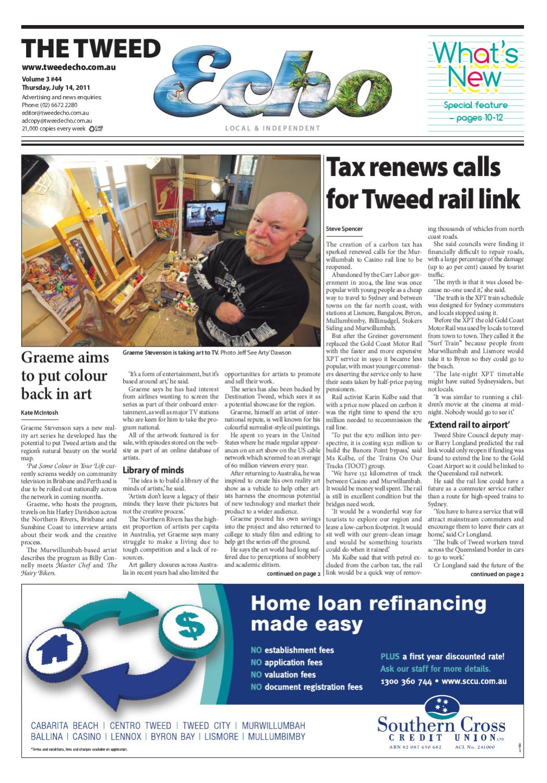 Tweed Echo – Issue 3.44 – 14/07/2011 by Echo Publications - issuu