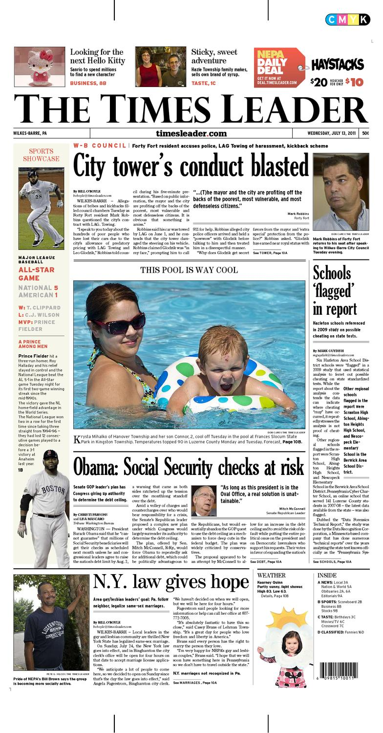 Times Leader 12 17 2011 By The Wilkes Barre Publishing ...