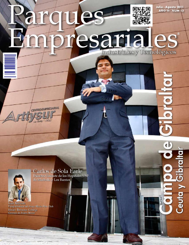 Parques Empresariales N 13 Campo De Gibraltar By Grupo Eudiem  # Muebles Sipo Los Barrios
