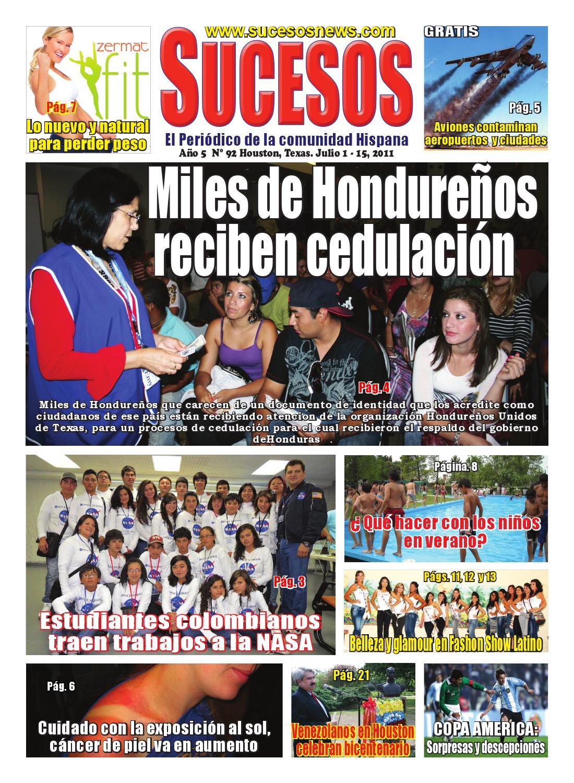 Sucesos Newspaper by Pedro Arevalo - issuu
