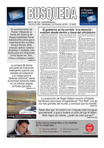 Semanario Busqueda by florencia mendez - issuu 8a1495e6be28