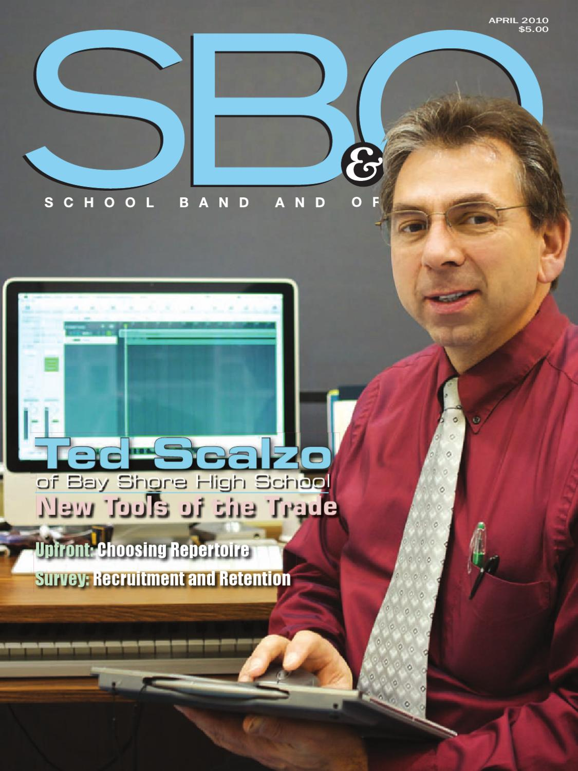 SBO April 40 by SBO School Band & Orchestra   issuu