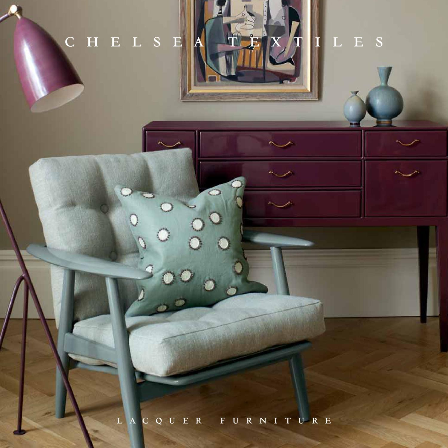Chelsea Textiles   Lacquer Furniture By Chelsea Textiles   Issuu