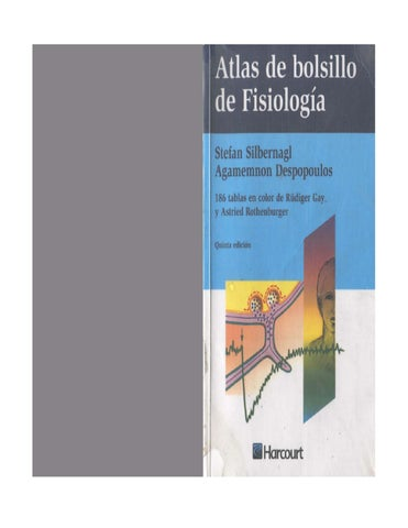 Atlas de Bolsillo de Fisiologia a Humana by cristina tania Soto ...