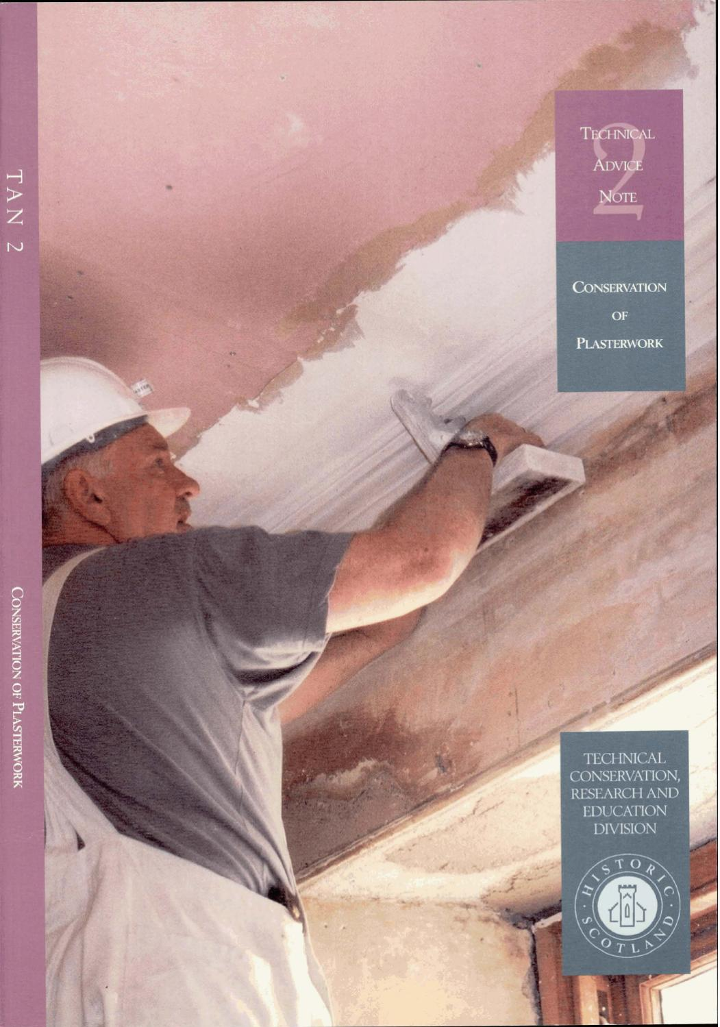 TAN 02- CONSERVATION OF PLASTERWORK (2) by Historic