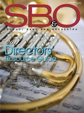 Sbo February By Sbo School Band Orchestra Issuu