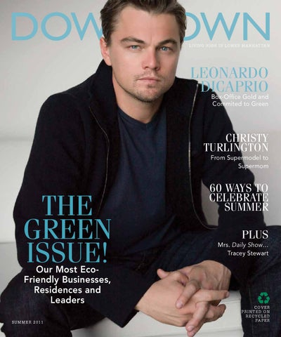 003 Downtown Magazine Nyc Summer 2011 Leo Dicaprio By Downtown