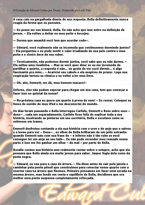O Coração De Edward Cullen By Troyis Library Issuu