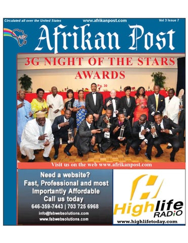 Afrikan Post July 2011 by Afrikan Post - issuu