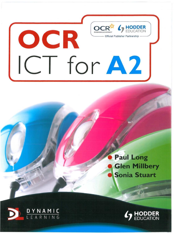Ocr ict coursework help