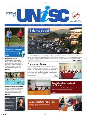 Jornal da Unisc by UNISC Santa Cruz do Sul - issuu c74f42e657898