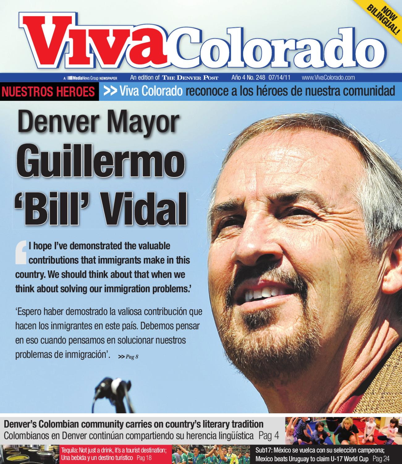 Denver Mayor Guillermo 'Bill' Vidal By Viva Colorado