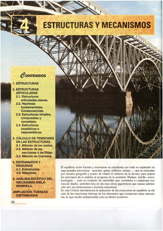 04 Estructuras Y Mecanismos By Secundino Sáenz Issuu