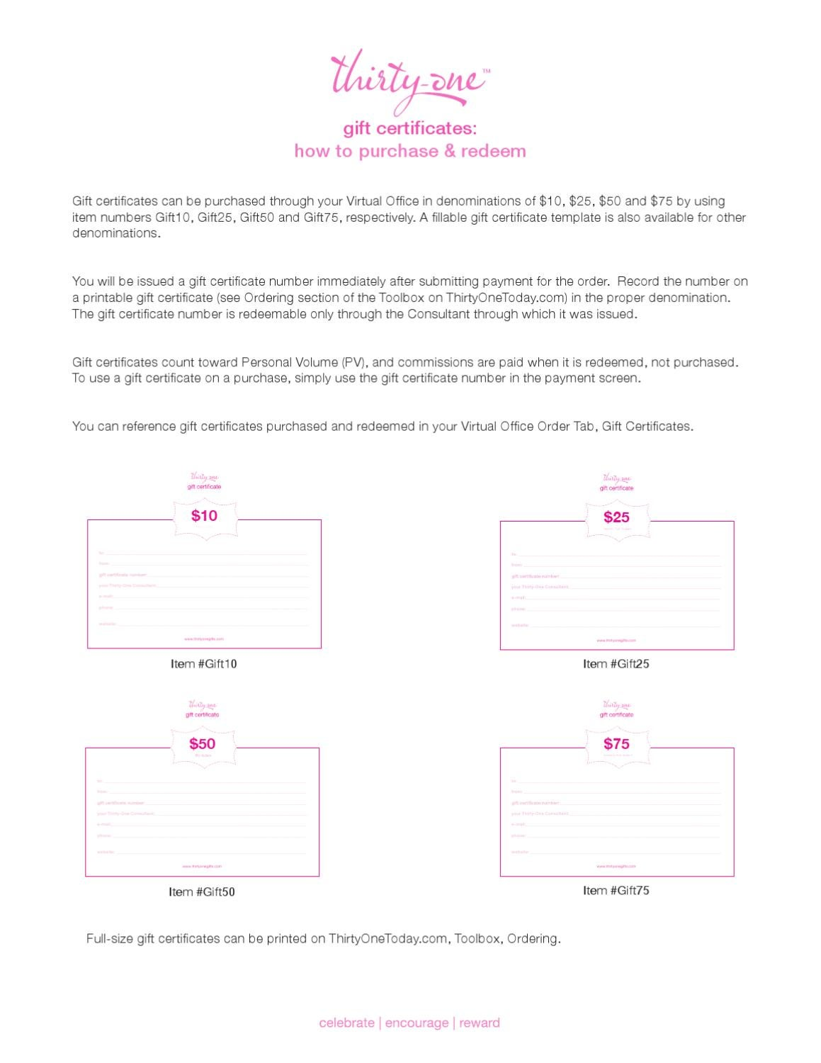 How to purchase and redeem gift certs by gina spandet issuu 1betcityfo Image collections