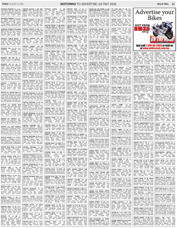 8 August 2008 by Pek one - issuu