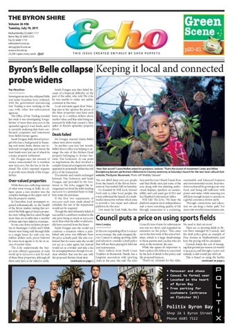 Byron shire echo issue 2606 19072011 by echo publications issuu page 1 fandeluxe Gallery