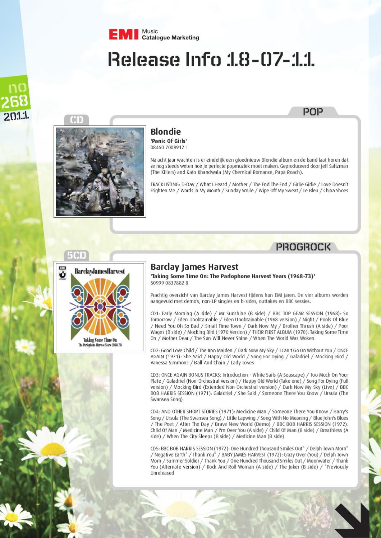 EMI Catalogue nieuwsbrief #268 by Jean Taree - issuu