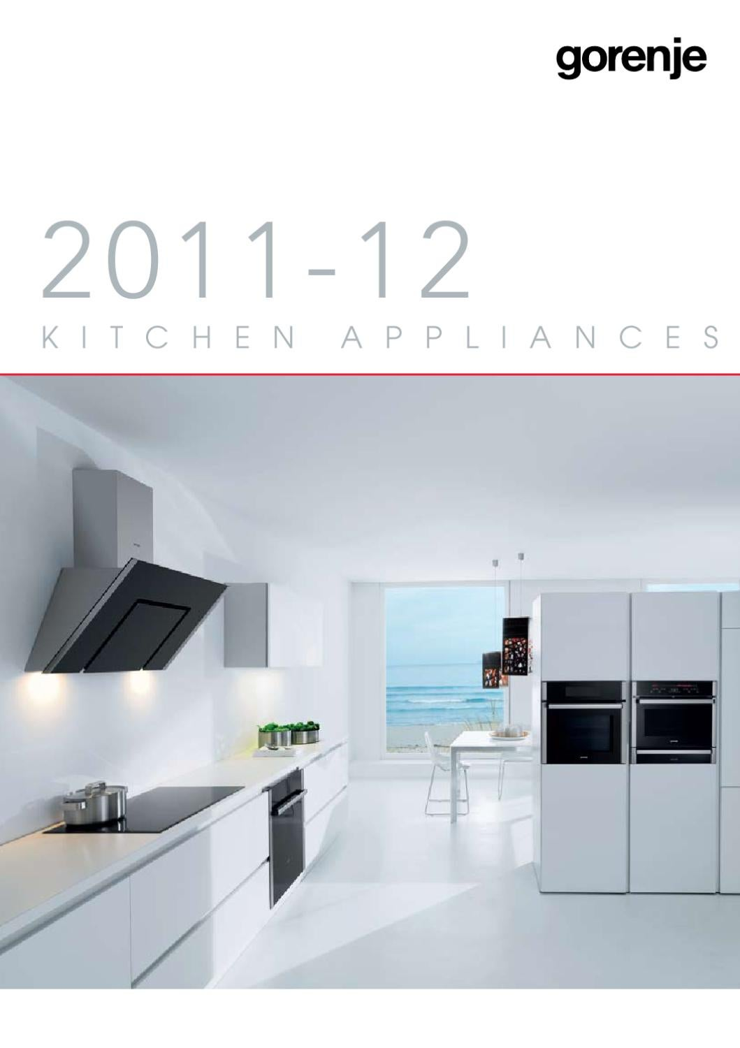 Gorenje Product Catalogue 2011-12 (Asia Edition) by Gorenje d.d. - issuu