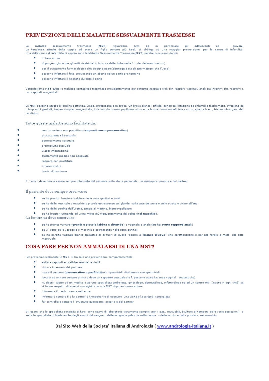 infezione papilloma virus prostatite