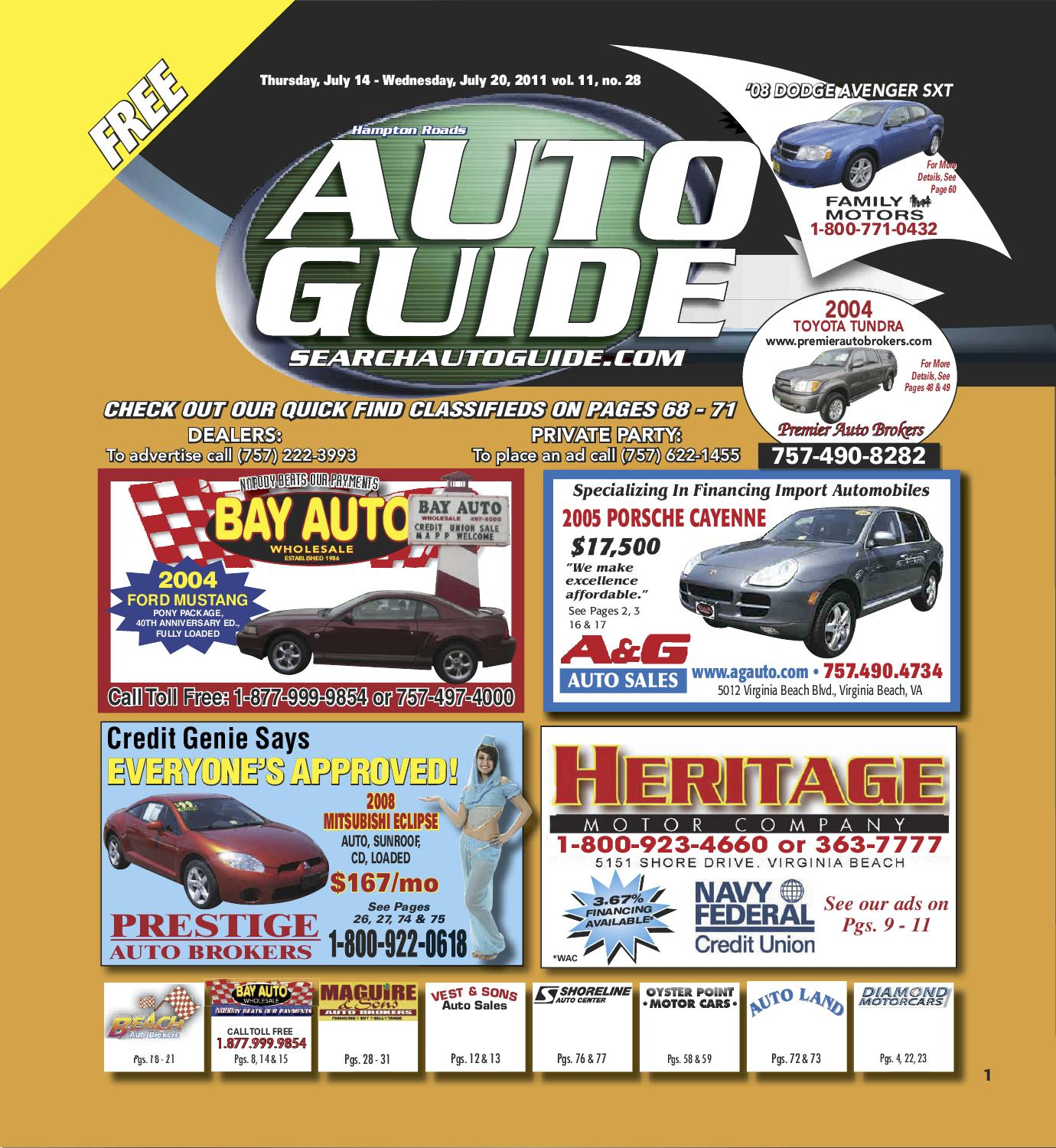 Autoguide Week of 07/14/2011 by AUTO GUIDE - issuu