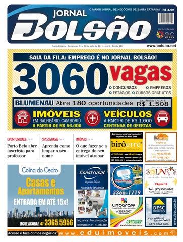 b5e935c1c0e18 Edição 421 by Bolsão Jornal - issuu