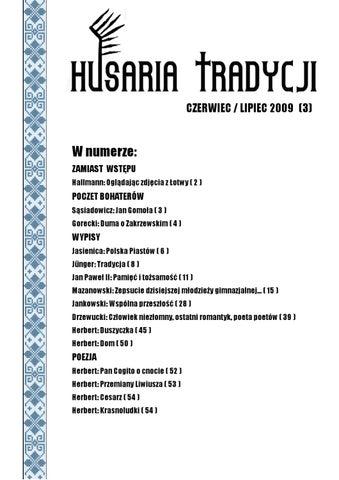 Husaria Tradycji Nr 3 By Dawid Hallmann Issuu