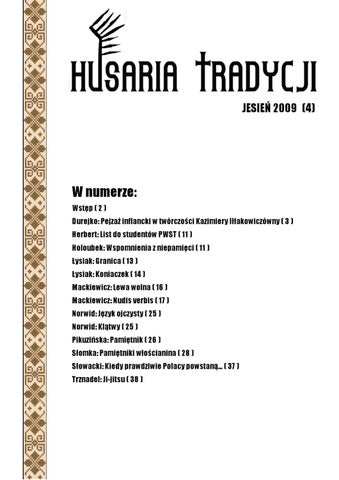 Husaria Tradycji Nr 4 By Dawid Hallmann Issuu