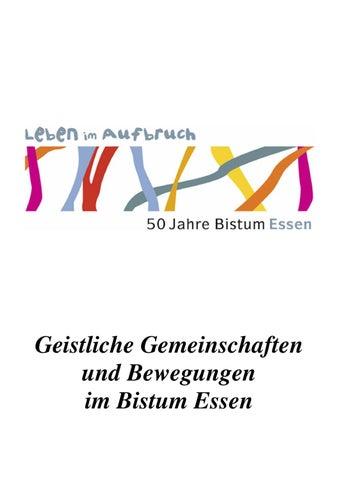 Geistlichen Gemeinschaften und Bewegungen by Bistum Essen - issuu