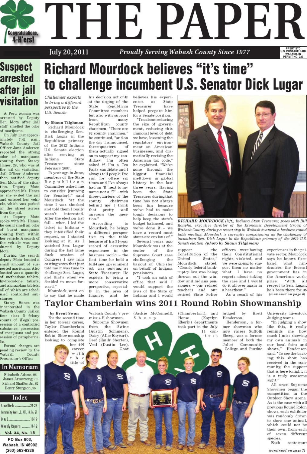 the paper u0027 of wabash county inc by the paper of wabash county