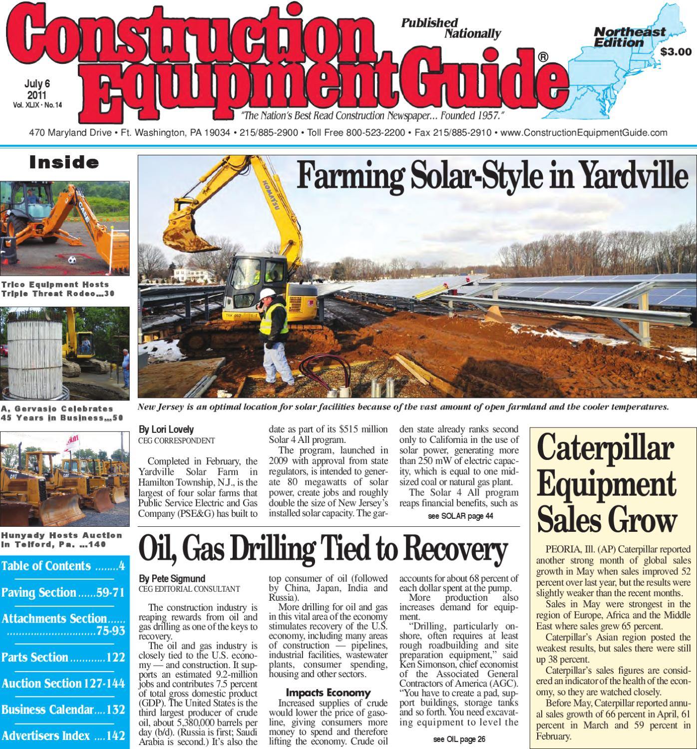 Northeast #14, 2011 by Construction Equipment Guide - issuu