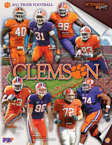 2011 Clemson Football Media Guide by Clemson Tigers - issuu ea690535c